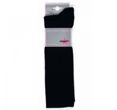 OVER KNEE SOCKS 2PK
